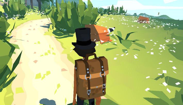 Jeux mobile The Trail, cachette de raton laveur
