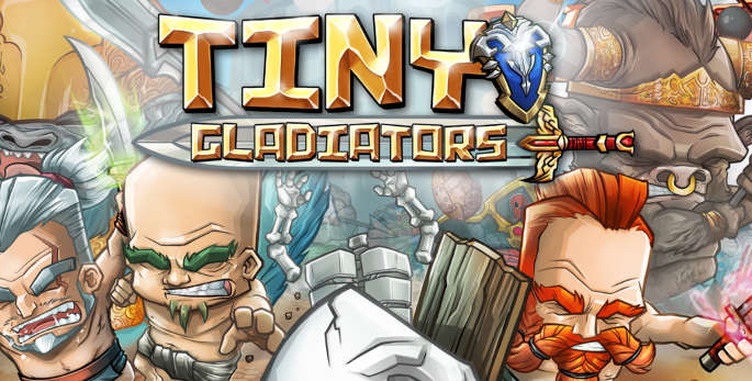 Jeu tiny Gladiators sur IOS et Android
