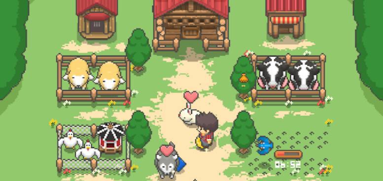 Jeu Tiny Pixel Farm