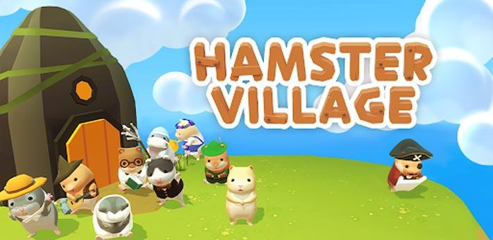 Le Village des Hamsters un jeu mobile trop mignon!