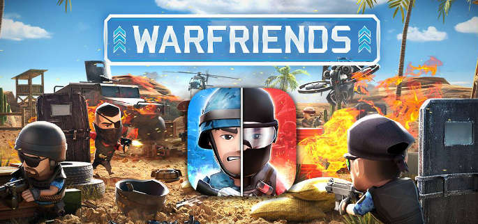 Jeu Warfriends sur Apple IOS et Android