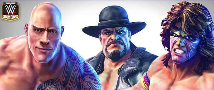 Jeu match 3 WWE Champions