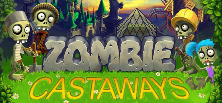 Zombi Castaways sur mobiles IOS et Android